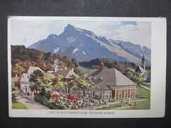 AK MORZG B. SALZBURG Restaurant Geissler 1915  //// D*25354 - Salzburg Stadt