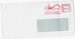 STORIA POSTALE  - BUSTA VIAGGIATA  - NUOVA INSERT  - ANNO 1986 ( MI ) - Affrancature Meccaniche Rosse (EMA)