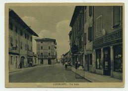 Codroipo (Udine) - Via Italia - Viaggiata 1952 - Udine