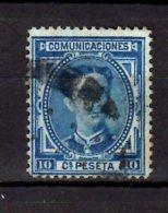 1876 Spani/ Spanien - Alfonso XII - Mi 157 - Used - See Scans - Wz - 1875-1882 Königreich: Alphonse XII.