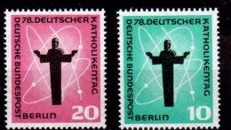 WZ 1958  Berlin -Deutscher Katholikentag, Berlin - Mi 179/80- 2v  - MNH** - Cristianesimo