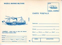 1993 , Romania , The First Romanian Ship , Pre-paid Postcard - Romania