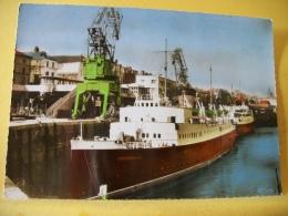 B9 1363 - CPSM - 76 DIEPPE - L'ARROMANCHES - BATEAU - Dieppe