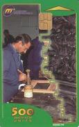 MACEDONIA -  Carving /Traditonal Craftsmanship,1999 , Tirage 40,000 ,500 U, Used - Macedonia