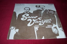 "BOF  SACCO ET VANZETTI   /   ENNIO MORRICONE  / JOAN BAEZ  / HERE""S TO YOU - Soundtracks, Film Music"