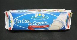 """Etui CAPRICE DES DIEUX En Cas De Caprice 150g """"Un Peu, Beaucoup... A La Folie!"""" - Boîte Emballage Fromage - Fromage"""