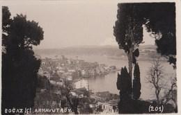 Carte Postale :   Turquie Istambul        Bocaz Ici Arnavutköy    N° 201 - Turquie