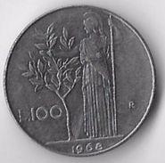 Italy 1968 100 Lire [C520/2D] - 1946-… : Republic