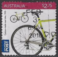 Australia 2015 Bicycles $2.75 Self Adhesive Good/fine Used [34/29110/ND] - Used Stamps