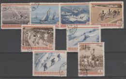 RUSSIA - 1954 Sports. Scott 1710-17. Used - Used Stamps