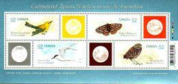 Canada 2008 Endangered Species-3 (#2285) Souvenir Sheet MNH ! - 1952-.... Reinado De Elizabeth II