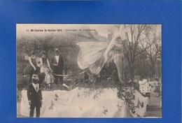 Nantes Mi Careme  1924 MESSAGERS DU PRINTEMPS ET FEMME PAPILLON  ( Très Très Bon état ) ZZ650 ) - Nantes
