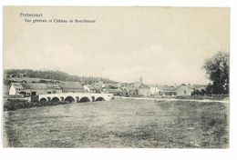 CPA 88 FREBECOURT VUE GENERALE ET CHATEAU DE BOURLEMONT - Francia