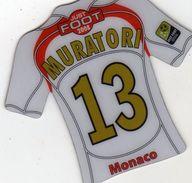 Magnet Magnets Maillot De Football Pitch Monaco Muratori - Sports