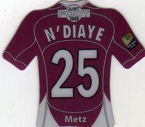 Magnet Magnets Maillot De Football Pitch Metz N'diaye 2008 - Sports