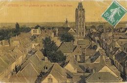 Verneuil-sur-Avre (Eure) - Vue Générale Prise De La Tour Saint-Jean - Carte G. Morand Colorisée, Toilée, Vernie - Verneuil-sur-Avre