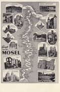 AK Gruss Von Der Mosel (pk37168) - Non Classés