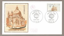 FDC 1971 EUROPA - 1970-1979
