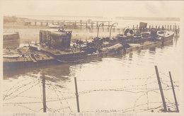 Zeebrugge - One Of The Block-ships (Phigenia) Carte Photo 1918 - Zeebrugge
