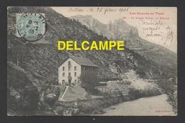 DF / 48 LOZERE / GORGES DU TARN / LE ROZIER / LE GRAND HÔTEL / CIRCULÉE EN 1905 - Gorges Du Tarn