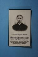 Léonie Mousset épse Lallemand Hanret 1930 /31/ - Images Religieuses