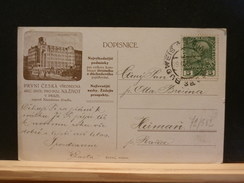 72/582     CP  AUTRICHE - 1850-1918 Keizerrijk