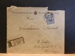72/581  LETTRE RECOMM.   AUTRICHE - 1850-1918 Keizerrijk