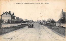 45-DORDIVES- ENTREE DU PAYS, ROUTE DE PARIS A ANTIBES - Dordives