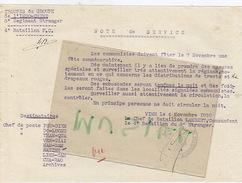 Troupes De L'Indochine. 5e Régiment Etranger. 4e Bataillon F.C.  Chef De Bataillon Lambert.1930. - Dokumente