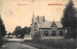 Vue Sur La Poste Zicht Op Postgebouw    Leopoldsburg          A 6990 - Leopoldsburg