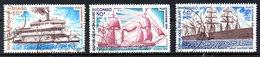 CONGO. PA 217 & 219-20 Oblitérés De 1976. Bateaux Anciens. - Bateaux