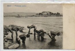 EGYPTE      NILE        Pêcheurs Arabes - Egypte