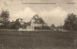 CHATEAU DAVID CENON PRES BORDEAUX - Bordeaux
