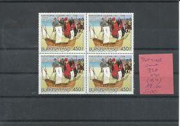 BURKINA YVERT AEREO  320   ( BLOQUE DE 4 SELLOS)    MNH  ** - Burkina Faso (1984-...)