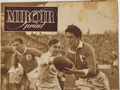 MIROIR SPRINT 1948 N° 97 Pelissier Seres Lapébie Dourdan Famechon Charron Foot France Italie Maillot AZUR Sommer Pagani - 1900 - 1949