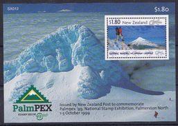 Nuova Zelanda New Zealand 1999 Bf 130 Esposizione Filatelica Palmerston North Mnh - Nouvelle-Zélande