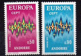 ANDORRE Timbres Neufs ** De 1972 ( Ref 93 A ) Europa - Unused Stamps