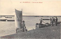 50-BLAINVILLE- L'ARRIVEE DES BATEAUX - Blainville Sur Mer