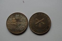 757 Médaille Medal  3,4cm  Tresors De France Arthus Bertrand Chateau Musee De Dieppe Normandie Seine Maritime - Arthus Bertrand
