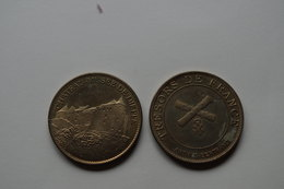 758 Médaille Medal  3,4cm  Tresors De France Arthus Bertrand  Normandie Eure Monet Giverny Coquelicots 1873 - Arthus Bertrand