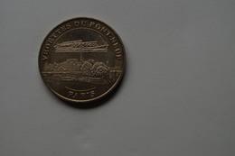 760 Médaille Officielle Collection Nationale Medal Monnaie De Paris 2004 Veddette Du Pont Neuf Seine Ship Bateau Mouche - Monnaie De Paris