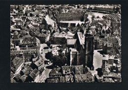 COLMAR  -Haut-Rhin- Vue Aérienne - Cpsm Noir Et Blanc --Paypal Sans Frais - Colmar