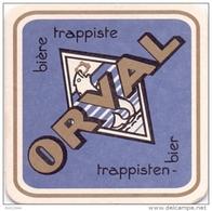 #D138-120 Viltje Orval - Beer Mats