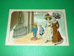 Cartolina Belgio - Souvenir De Bruxelles - Manneken Pis 1900 Ca - Cartoline