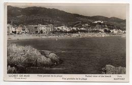 Espagne--LLORET DE MAR -- Vista Parcial De La Playa - Gerona