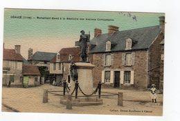 Céaucé ( Orne ) - Monument élevé à La Mémoire Des Anciens Combattants , Couleur - 61 - - France