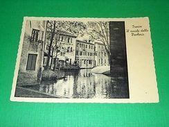 Cartolina Treviso - Il Canale Della Pescheria 1950 Ca - Treviso