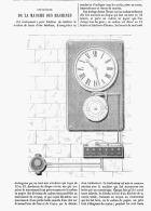 CONTROLEUR DE LA MARCHE DES MACHINES    1875 - Sciences & Technique