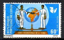 CONGO. N°413 Oblitéré De 1976. Année Internationale De La Femme. - Congo - Brazzaville