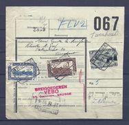 Fragment Met Stempel BRUGGE - 1942-1951